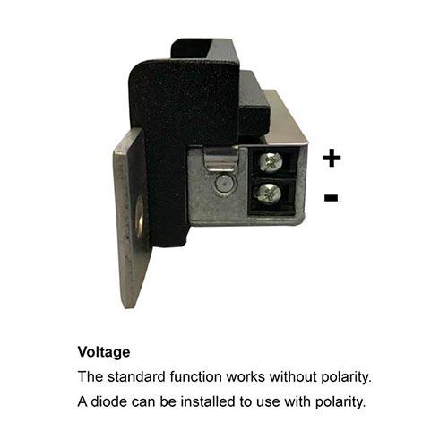 Vis el102 fsa 2200lbs electric door strike for wood and for 12v electric door strike