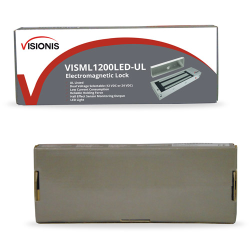 Vis Ml1200led Ul 1200lbs Indoor Electric Maglock With