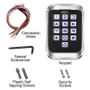access keypad reader standalone outdoor items visionis vis 3004