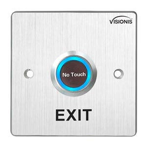 Indoor No Touch Exit Button With Time Delay