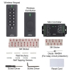 VIS-3200, 433MHz + Outdoor IP 65 + Black + Wireless Exit Button, Receiver, Keypad + Access Control