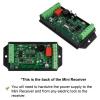 VIS-8011, Access Control + RF Wireless 433MHz