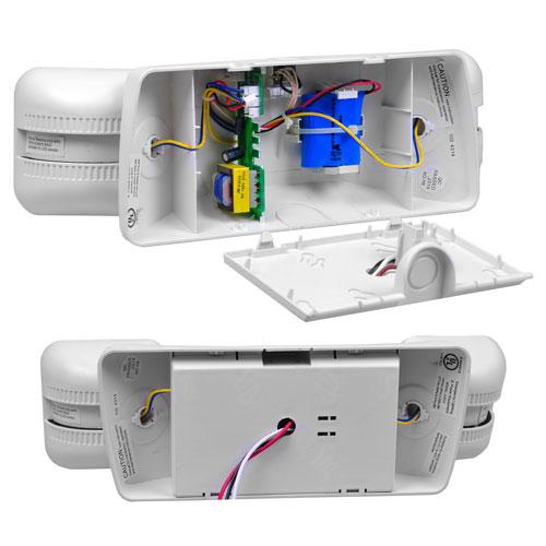 VIS-ELS - Emergency Exit Light - LED - Adjustable Square Head - 90