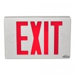 VIS-ESR Red Exit Sign
