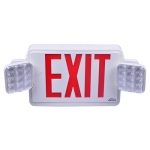 VIS-ESRWEL Exit Sign with Emergency Lights
