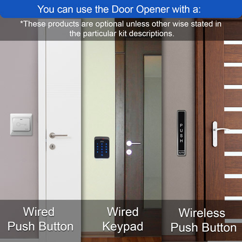 Vis 8015 Wireless Push Button For Automatic Door Opener