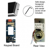access biometric fingerprint standalone outdoor parts visionis vis 3024