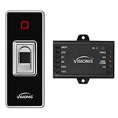 access biometric fingerprint standalone outdoor waterproof front visionis vis 3024