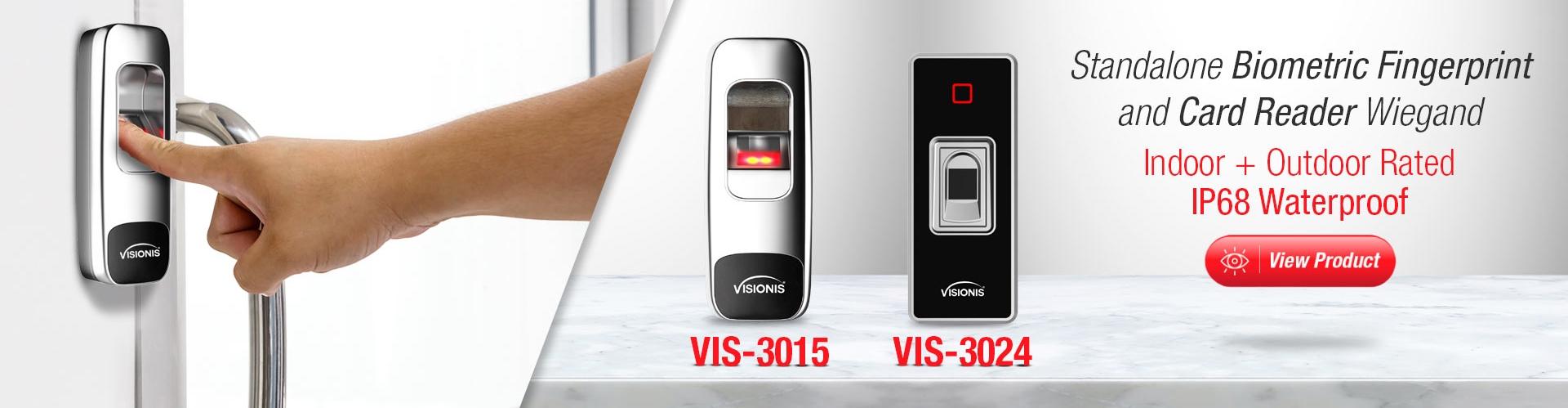 banner fingerprint biometric vis3015 vis 3024