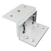 Soporte Z para cerradura electromagnética de  140lbs VIS-ML120.