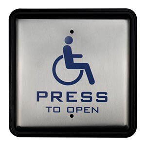 Handicap Push to Exit Buttons