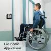 handicap push button door access control install visionis vis 7039