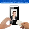 face recognition access control card read vis frio visionis