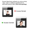 face recognition with anti spoofing access control face VIS-FRIW