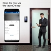 face recognition access control open door app vis frio visionis